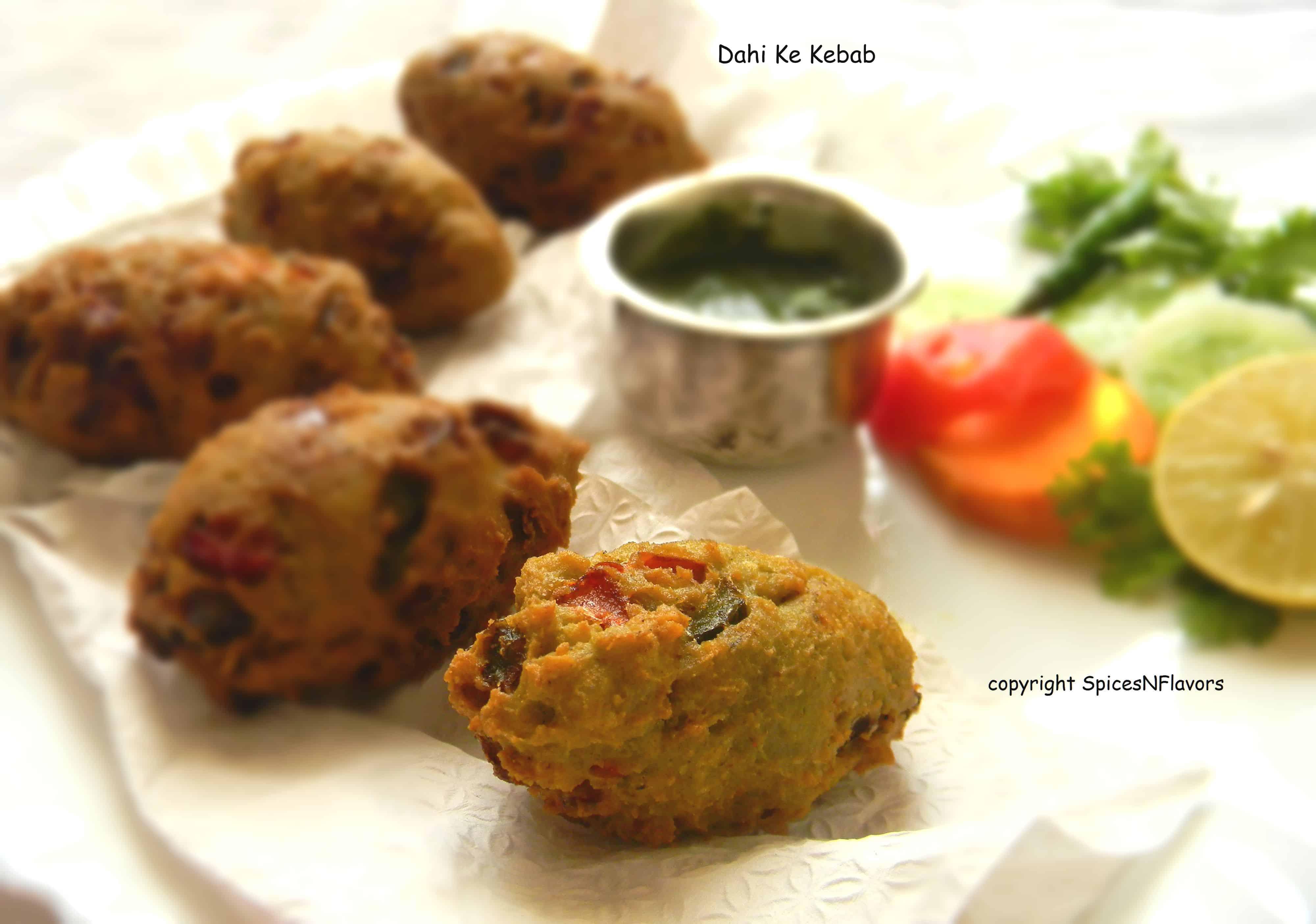 hung curd|dahi|ke|kebab