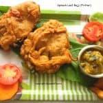 Crispy|spinach|leaf|bajji|fritter