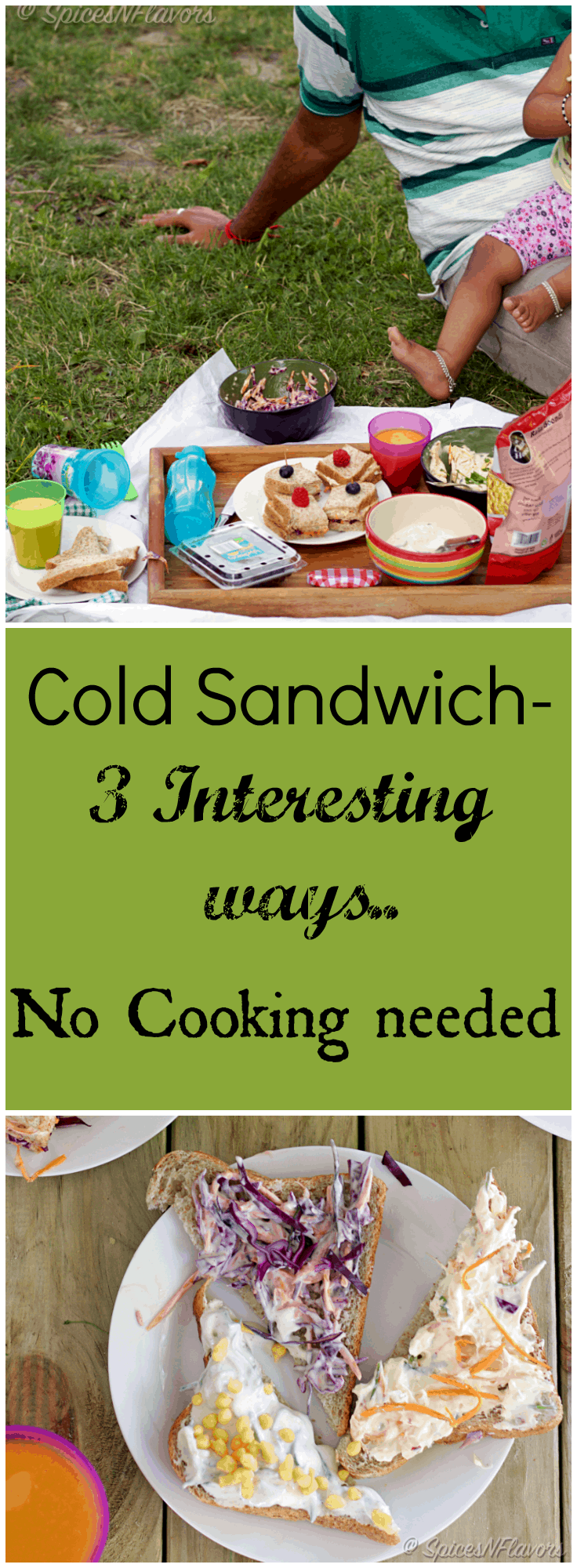 cold-sandwich-3-interesting-ideas with 3 different and delicious filling ideas perfect for back to school