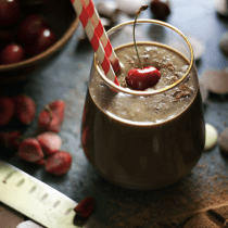 black-forest-cake-smoothie