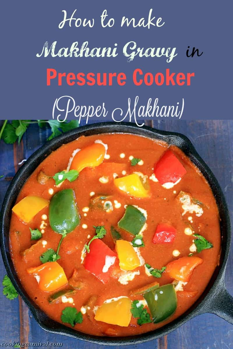 pepper-makhani-pinterest easy pressure cooker recipe