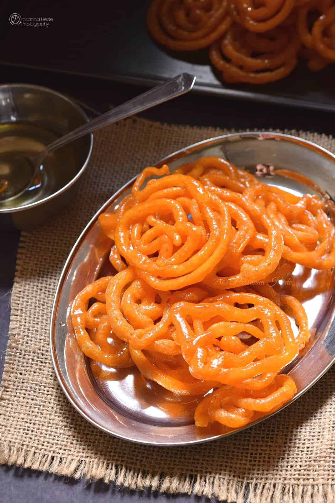 indian sweets instant jalebi
