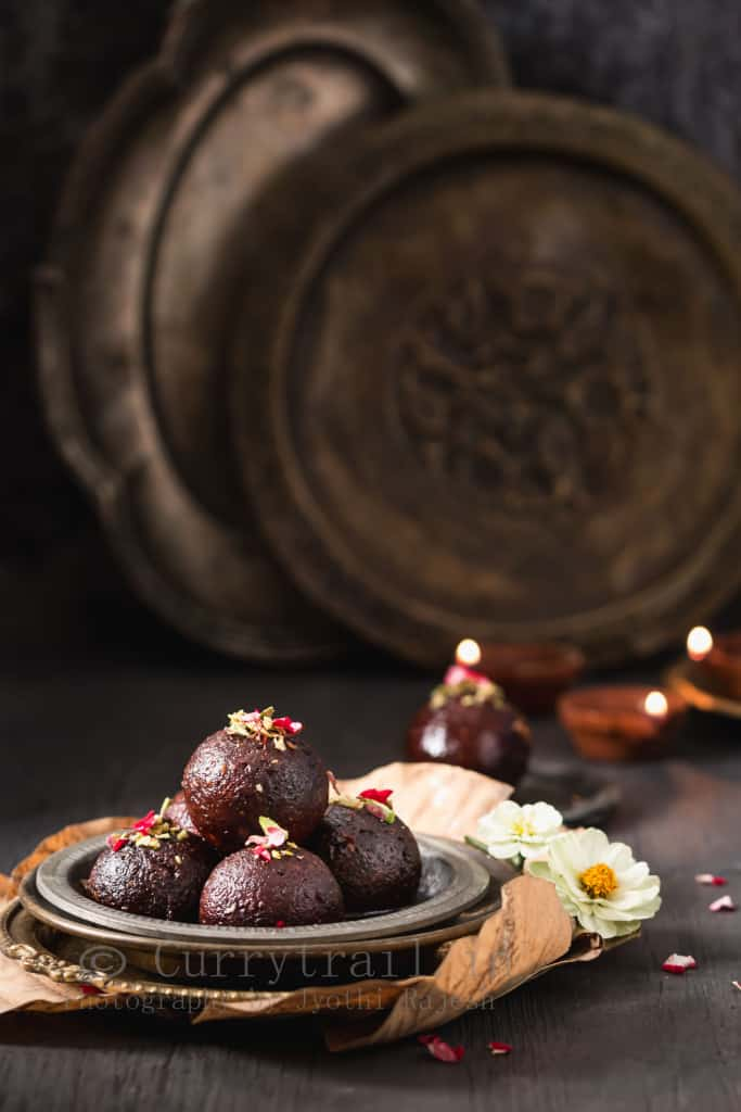 indian sweets kala jamun