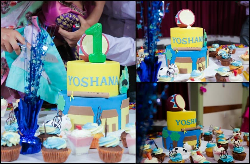 Little Krishna Theme Birthday Party.