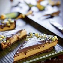 Chocolate Yogurt Mousse Tart