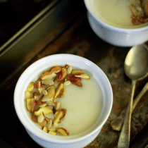 Arisi Thengai Payasam Rice Coconut Kheer easy quick winter dessert