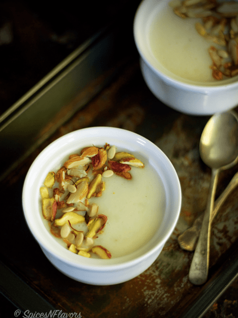Arisi Thengai Payasam Rice Coconut Kheer easy quick winter dessert