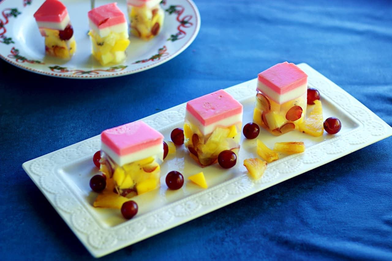 Agar Agar Fruit Cake