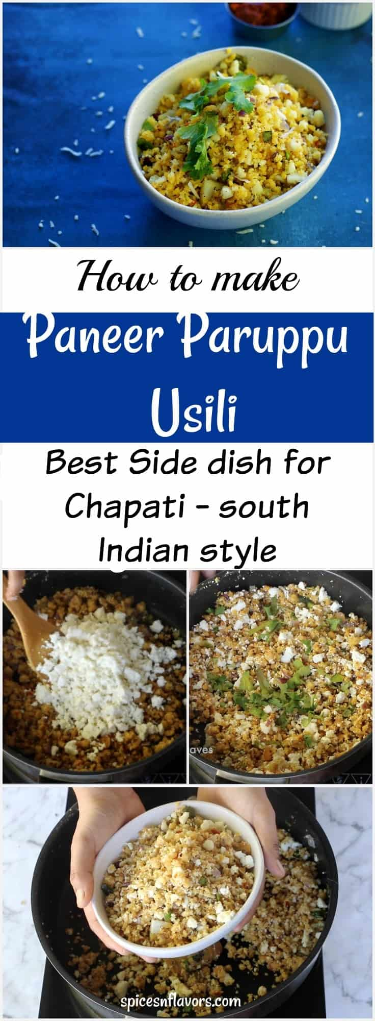 paneer paruppu usili south indian tamil brahmin style beans paruppu usili dry sabzi that goes well with rice, roti and phulka. side dish for chapati