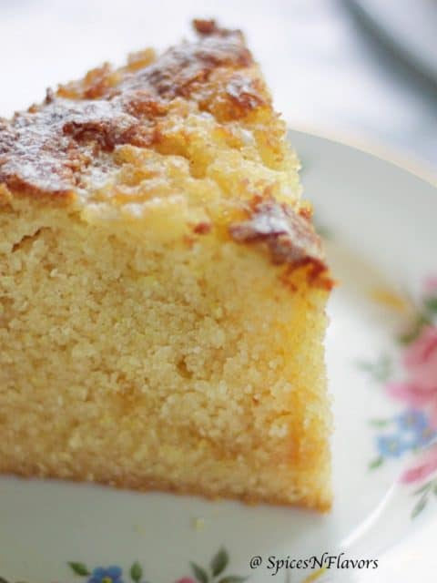Eggless Rava Cake in Pressure Cooker sooji cake semolina cake no butter no oil crazy cake no maida