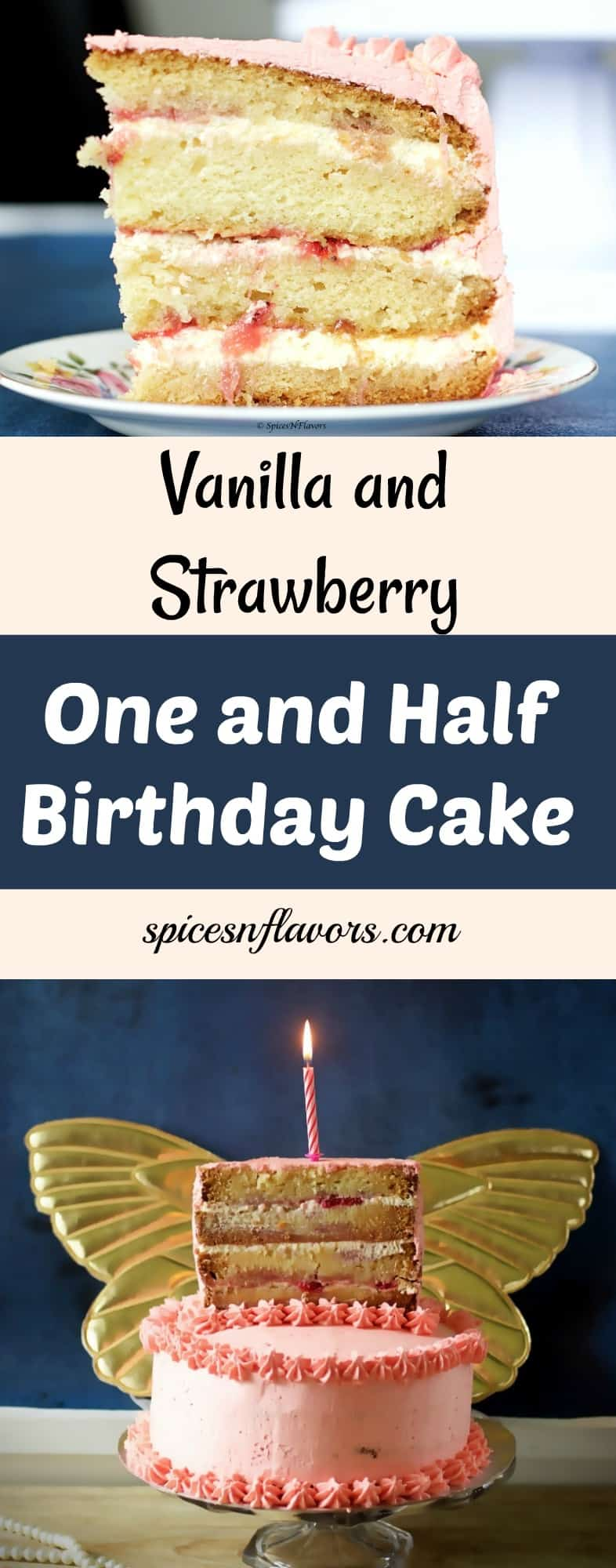 one and half cake one and half birthday cake vanilla and strawberry cake eggless strawberry cake birthday cake