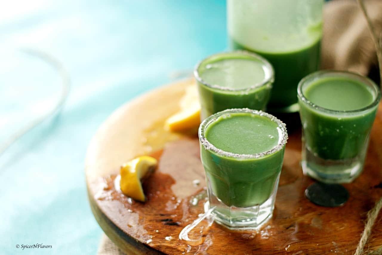 Refreshing Paan (Betel Leaves) Drink
