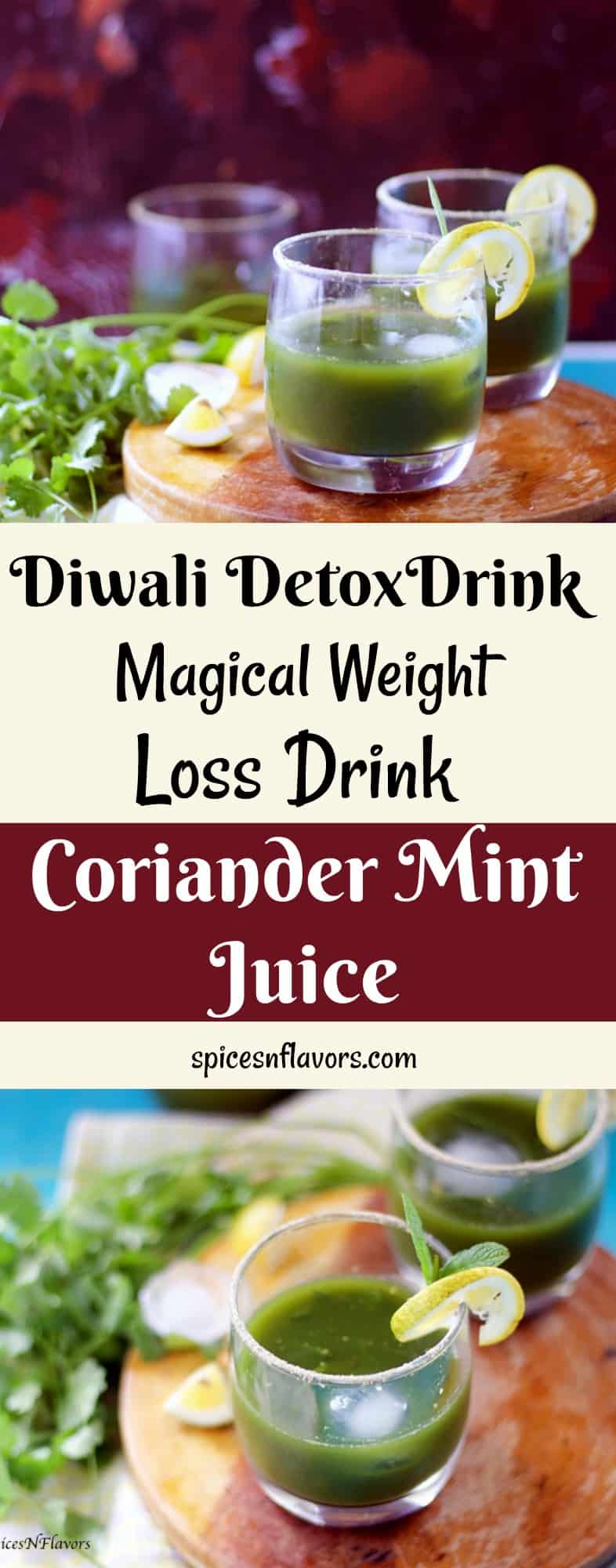 coriander mint juice healthy juice recipe healthy drink to lose weight weight loss drinks detox drink easy detox drink diwali detox drink