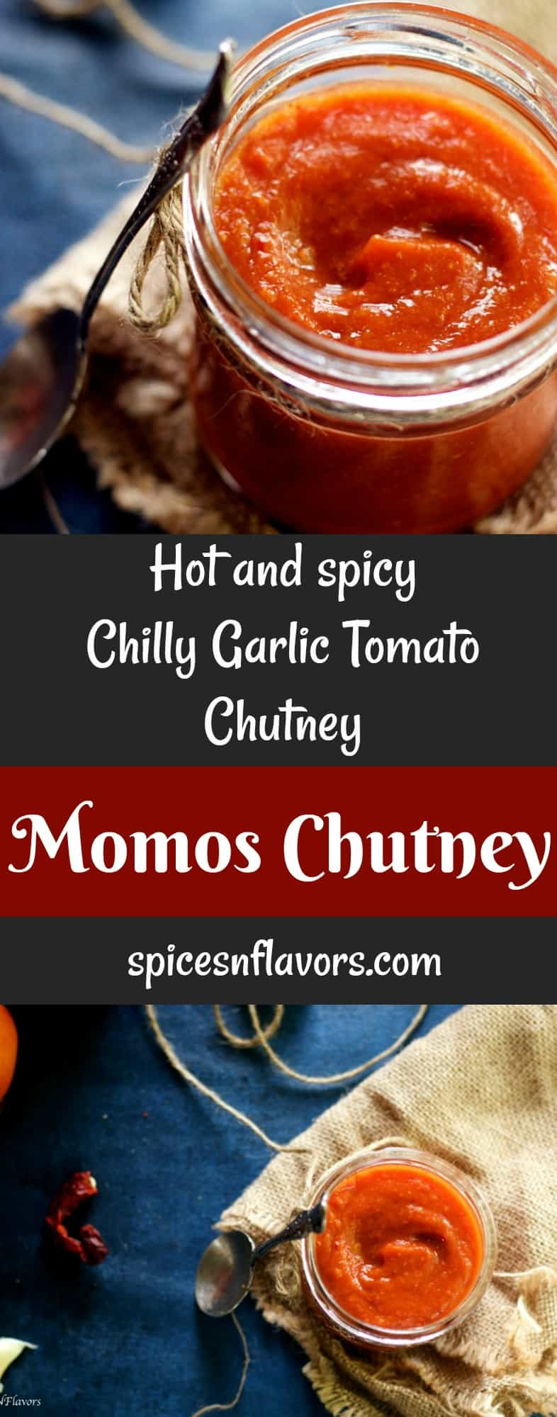 momos chutney spicy chilly tomato chutney recipe street food indian street food spicy momos spicy momos chutney recipe #pinterest #momoschutney #momos #vegetariandumpling