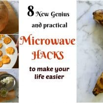 8 new genius and practical microwave hacks to make your life easier, microwave tips and tricks, how to cook efficiently, how to extract maximum juice from lemon, how to cut a pumpkin easily, microwave chips, microwave indian sweet, easy indian sweet, how to ripen banana, ripe banana, microwave cake, how to boil eggs in microwave, how to make pani puri without deep frying