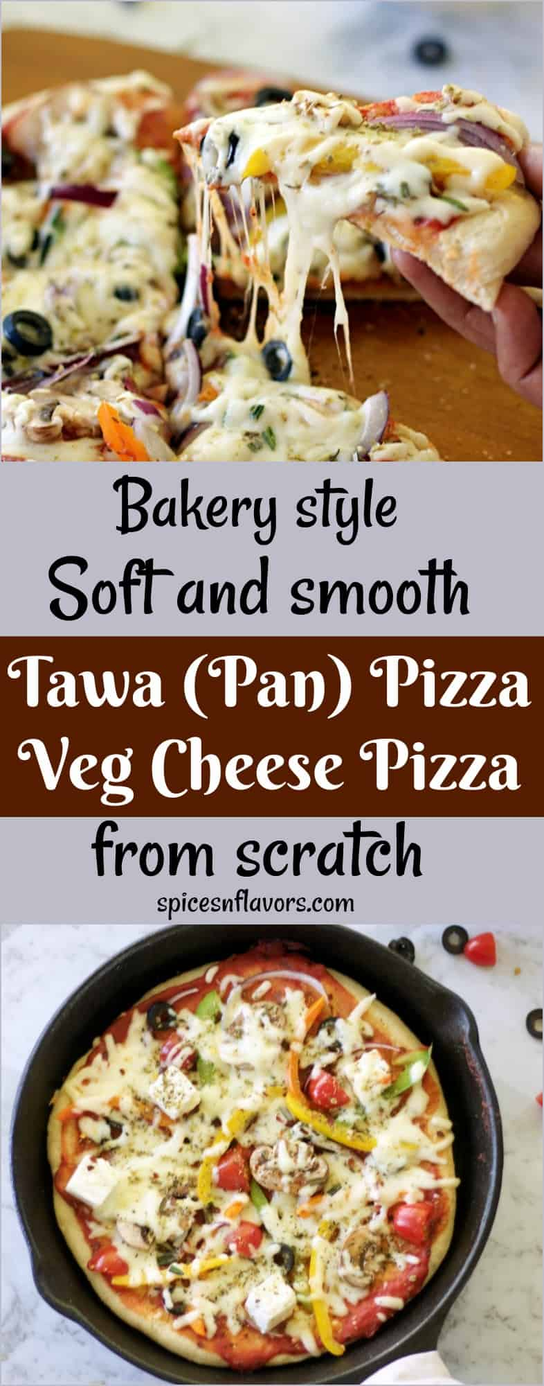 tawa pizza pizza without oven homemade pizza dough how to make pizza dough at home how to make pizza from scratch veg pizza cheese pizza easy pizza dough homemade pizza dough #pizza #homemadepizza #pizzacrust #homemade