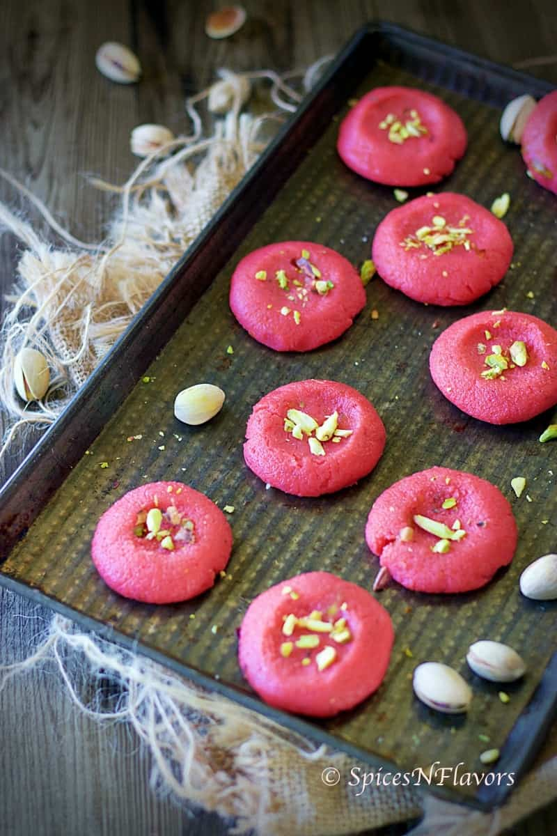 strawberry peda indian peda recipe indian sweets indian festival recipes new year recipes peda indian desserts easy indian recipe strawberry indian recipe