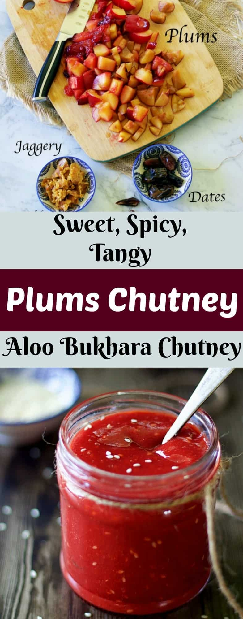 indian spiced plum chutney plums chutney sweet spicy tangy indian condiment best side dish for idli dosa phulka how to store chutney for 2 3 months fresh plum chutney plum jam plum photography indian chutney