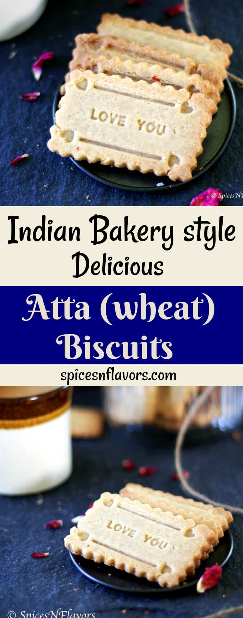 pin image of atta biscuits whole wheat biscuits