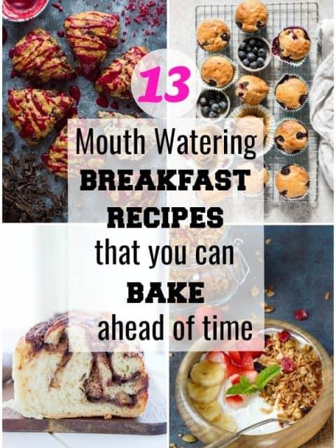 pin image of best breakfast recipe post