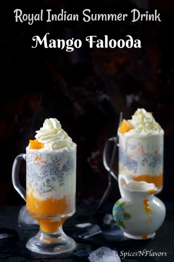 straight view of mango falooda recipe