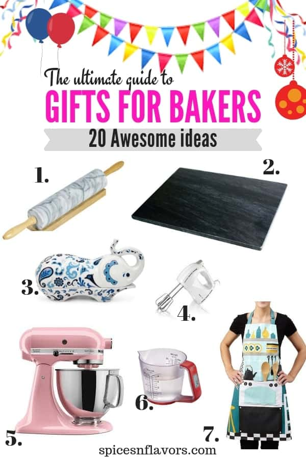 basic gifting guide, gifts for bakers at beginner level