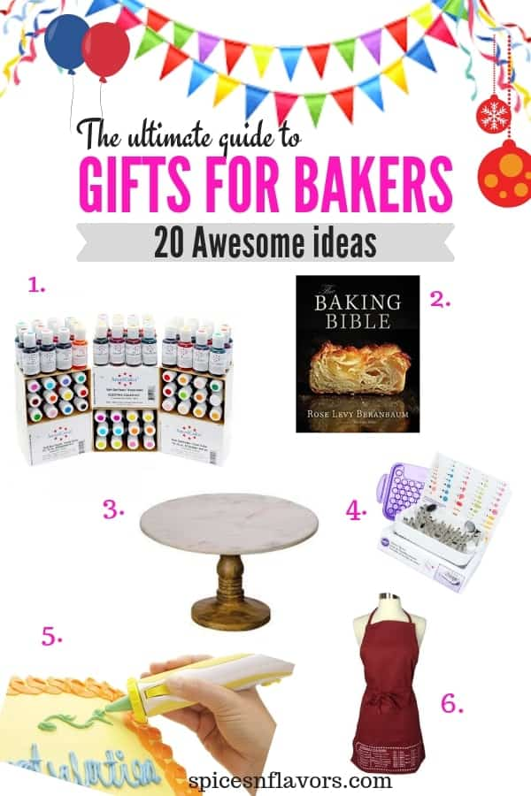 20 awesome gifting guide, gifts for bakers