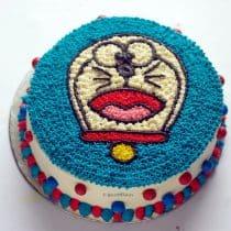 final image of doraemon cake