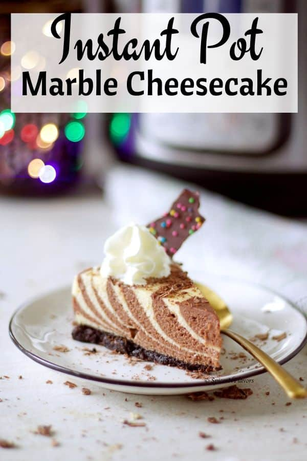 pin image of marble cheesecake
