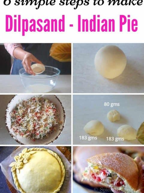 pin image of Dilpasand recipe