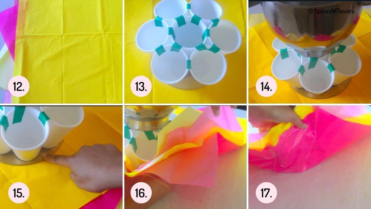 constructing the bouquet part 2
