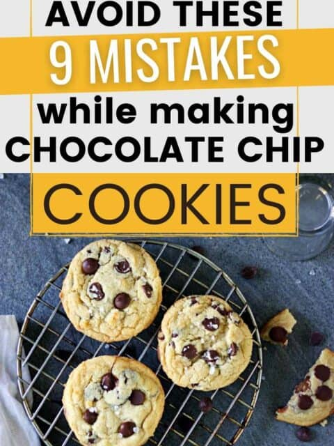 pin image for eggless chocolate chip cookies
