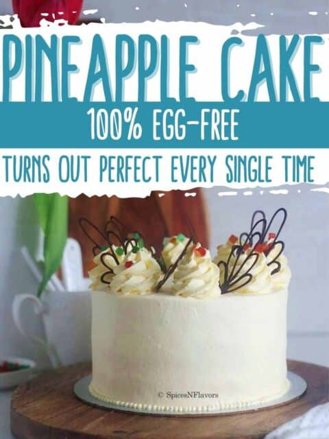 pin image for pineapple cake recipe