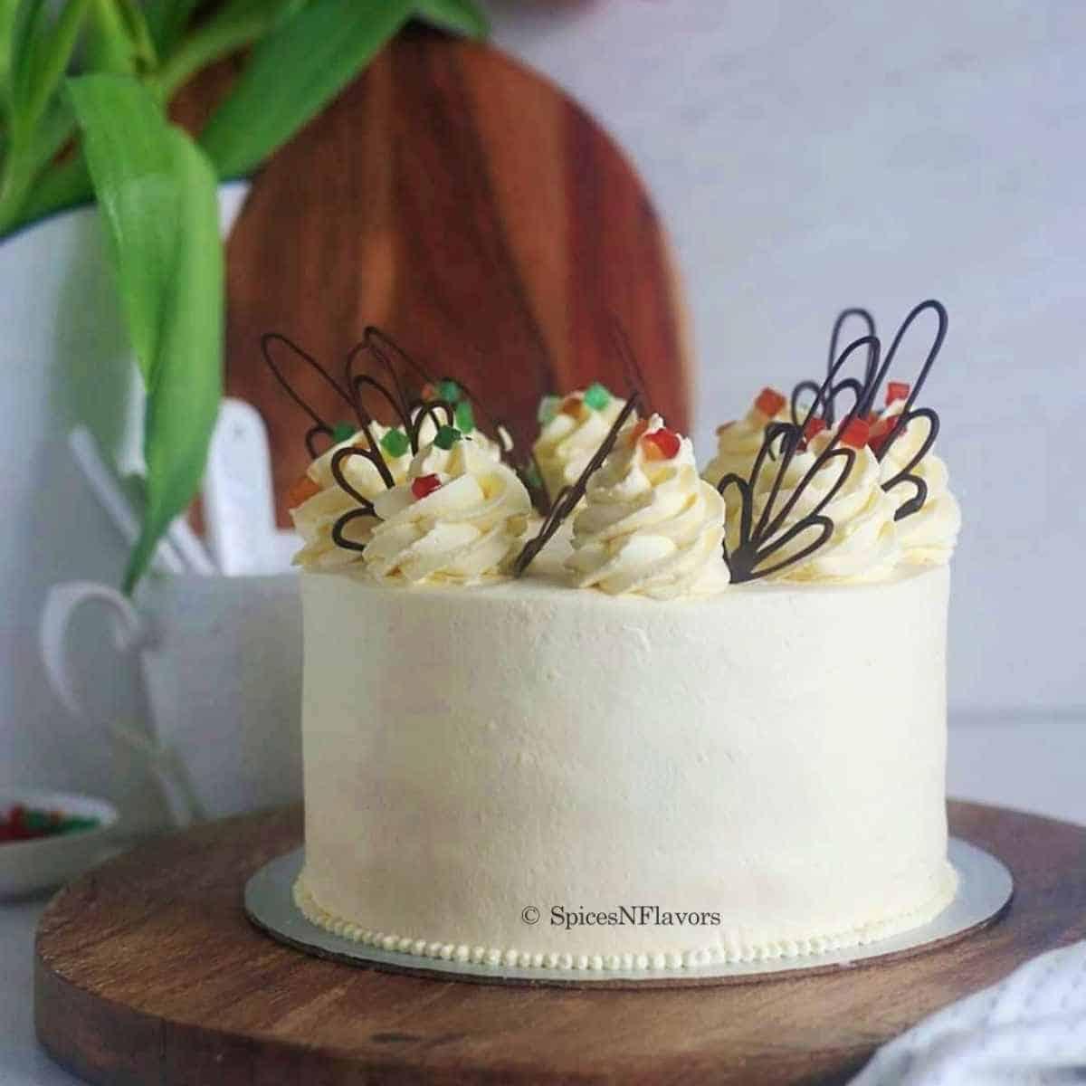 recipe image of pineapple cake